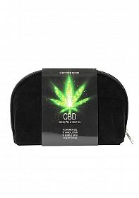CBD - Bath and Shower - Toiletry set - Green Tea Hemp Oil