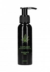 Cannabis With Hemp Seed Oil - Massage Oil - 100 ml