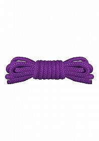 Japanese Mini Rope - 1,5m - Purple