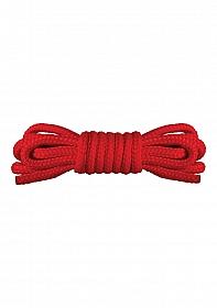 Japanese Mini Rope - 1,5m - Red