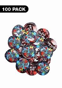 Exs City Mix Condoms - 100 pack