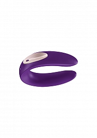 Double Plus Partner Vibrator - Purple