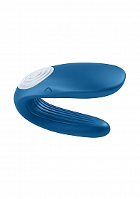 Double Whale Partner Vibrator - Blue