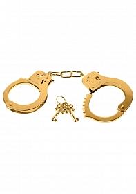 Metal Cuffs - Gold