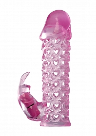 Vibrating Couples Cage - Pink