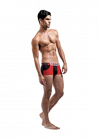 Pocket Short - Black and Red