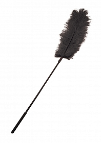 Ostrich Tickler - Black