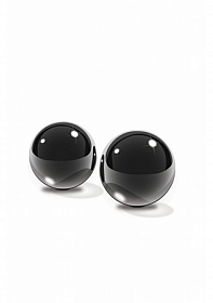 Black Glass Ben-Wa Balls S
