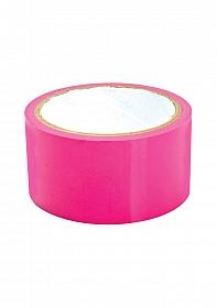 Sex Please! Dominate Me Self-Adhesive Bondage Tape - Pink