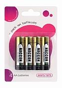 4 Pack AA Batteries