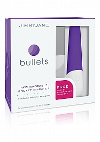 Bullets Rechargeable Pocket Vibrator - Purple