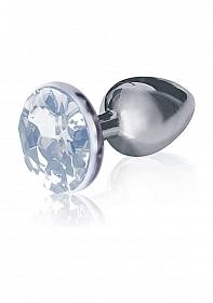 Bejeweled Stainless Steel Plug - Diamond