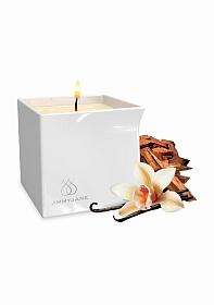 Afterglow Massage Oil Candle Vanilla Sandalwood - Whit
