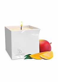 Afterglow Massage Oil Candle Mystic Mango - White