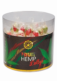 Cannabis Fruit Lollies - Display - 80 pieces