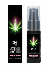 CBD Cannabis Pheromone Stimulator For Her - 15ml