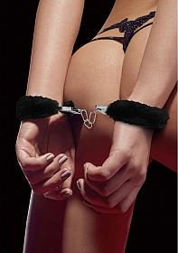 Beginner's Handcuffs Furry - Black